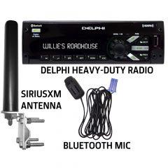 Delphi Mechless SiriusXM Satellite Radio Bundle Pack