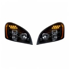 Freightliner Cascadia LED Blackout Headlights