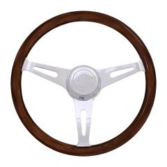 "18"" Dart Mahogany Steering Wheel"