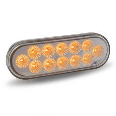 "6"" 12 LED Oval Light"
