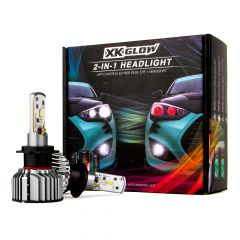 XKGlow Demon Eye LED Headlight Bulbs