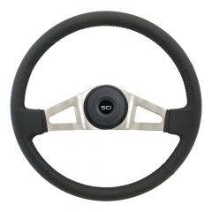"18"" Marion Leather Steering Wheel"