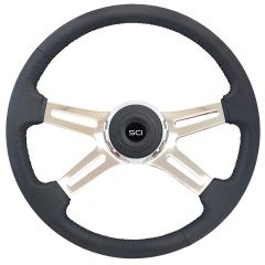 "18"" Statesman Leather Steering Wheel"