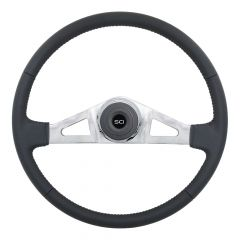 "20"" Rogers Leather Steering Wheel"