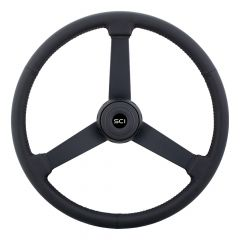 "20"" Hoss Leather Steering Wheel"