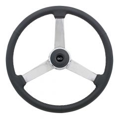 "20"" General Leather Steering Wheel"