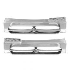 Double JJ Peterbilt 389 Rear Step Blinker Bars