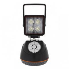 """3-1/2"""" Square Rechargeable LED Work Light"""