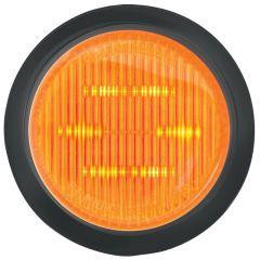 "2"" LED Marker Lights with Grommet Amber/Amber"