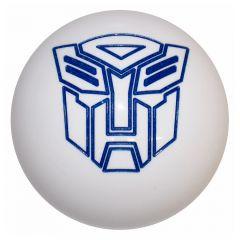 White Transformers Autobot Brake Air Valve Knob