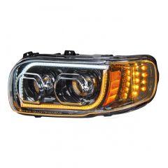 PB 388/389 Blackout Headlight w/ Turn Signal & Position Light