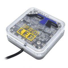 12-Volt Amber Ultra Mini Light Bar Permanent Mount