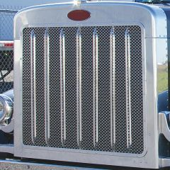 Peterbilt 389 Extended Hood Oval Punched Grill