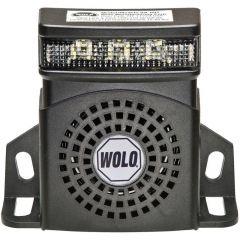 Heavy-Duty Back-Up Alarm with 3 LED Flasher