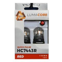 7443 Lumacore Strobing Stop/Tail Light Bulbs