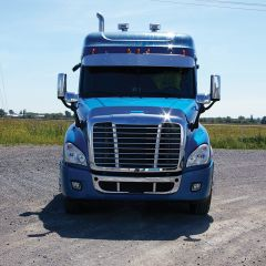 Freightliner Cascadia P4 2018+ Stainless Steel Bugshield