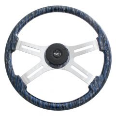 """18"""" Wildfire Wood Steering Wheel"""