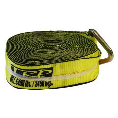 """Winch Strap with D-Ring 3"""" x 30'"""