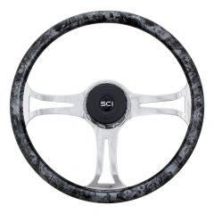 """18"""" Steel Turbine Steering Wheel"""