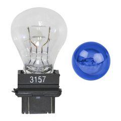 Blue Glass 3157 Mini Light Bulb