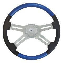 Classic Combo Blue Steering Wheel