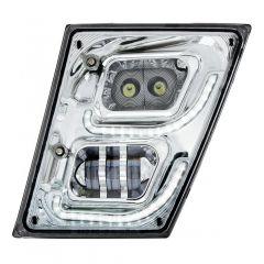 Volvo Chrome LED Fog and Daytime Running Lights