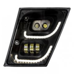 Volvo Blackout LED Fog and Daytime Running Lights