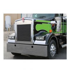 """Kenworth W900L 22"""" Stainless Box End Bumper"""