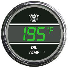 Oil Temperature Gauge Green