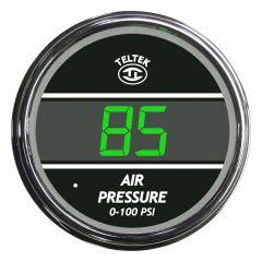 Air Pressure Gauge (0-100) Green