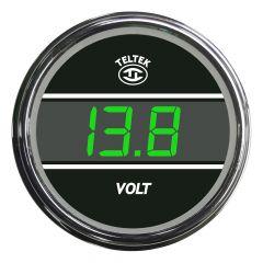 Voltmeter Gauge Green