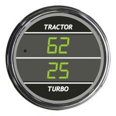 Dual Display Tractor / Turbo Pressure Green