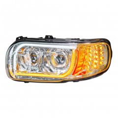 Peterbilt 388, 389 Chrome LED Headlight