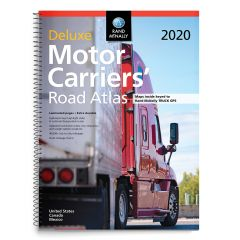 2020 Rand McNally Deluxe Motor Carriers Road Atlas