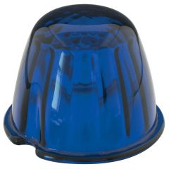 Blue Reflector Glass Lens
