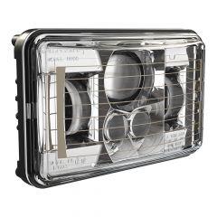"4"" x 6"" 8800 Evo 2 Low Beam Heated LED Headlight"