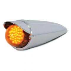 36 LED Classic Cab Light with Regular Glass Lens and Visor