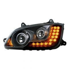 Kenworth T660 Blackout Projection Headlight
