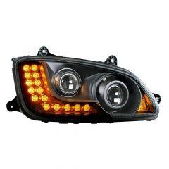 Kenworth T660 Blackout Projection Headlight P/S