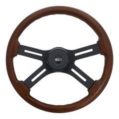 """18"""" Onyx Mahogany Steering Wheel"""