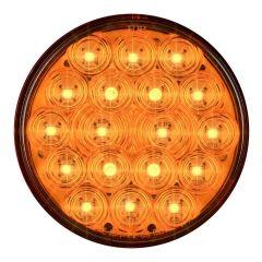 "4"" Round Fleet Style 18 LED Light"