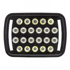 "5"" x 7"" Rectangular 22 LED High/Low Beam Headlight"
