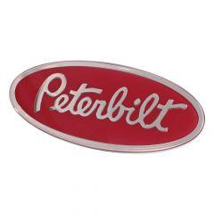 Red Peterbilt Oval Emblem