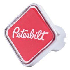 Peterbilt Red/Chrome Tractor & Trailer Air Valve Knobs