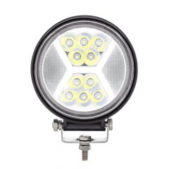 """4-1/2"""" 24 LED Work Light with X Guide Light"""
