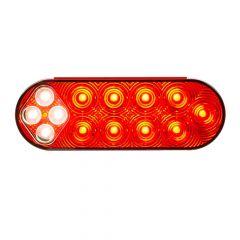"""6"""" Oval Fleet Combo S/T/T & Back Up LED Light"""