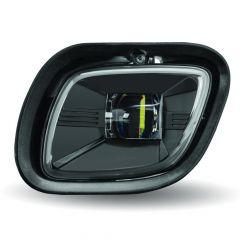 Freightliner Cascadia Passenger Side Blackout LED Projector Fog Lights
