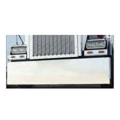 """Multi-Fit 18"""" Stainless Box End Bumper"""