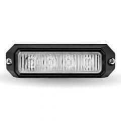 """3.75"""" Class 1 LED Flasher Amber Strobe Light"""