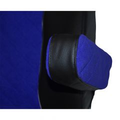 Freightliner Cascadia High-Back Seat Blue Armrest Covers